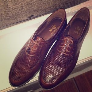 G.H. Bass Leather Mens Dress Shoes